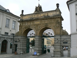 Gate of the Pilsen Brewery